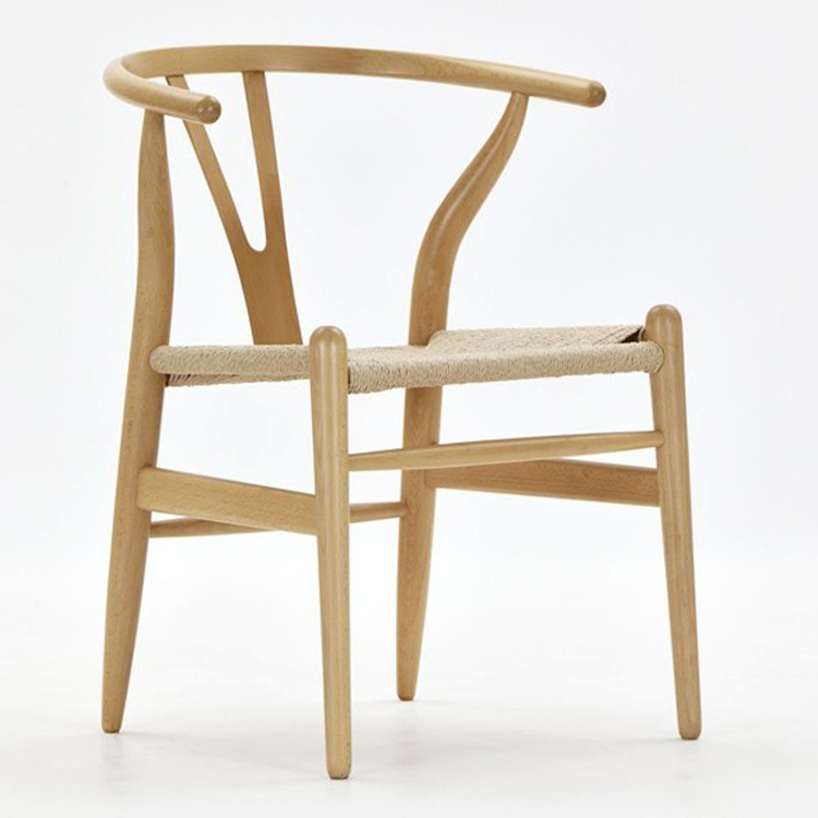 Elegant Hans Wegner CH24 Wishbone Chair ...