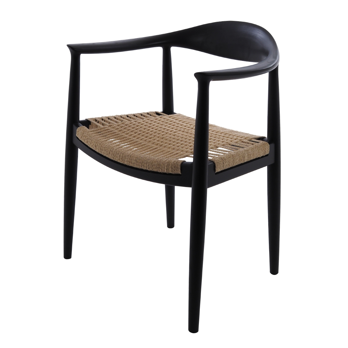 sc 1 st  Dominidesign! & Wegnerdining chair kennedy chair black