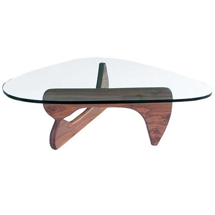 Tavolino Noguchi Design.Coffee Table Noguchi Table Walnut
